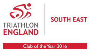 Triathlon England - Club of the year 2016 - South East