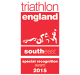 Triathlon England - Special recognition award 2015