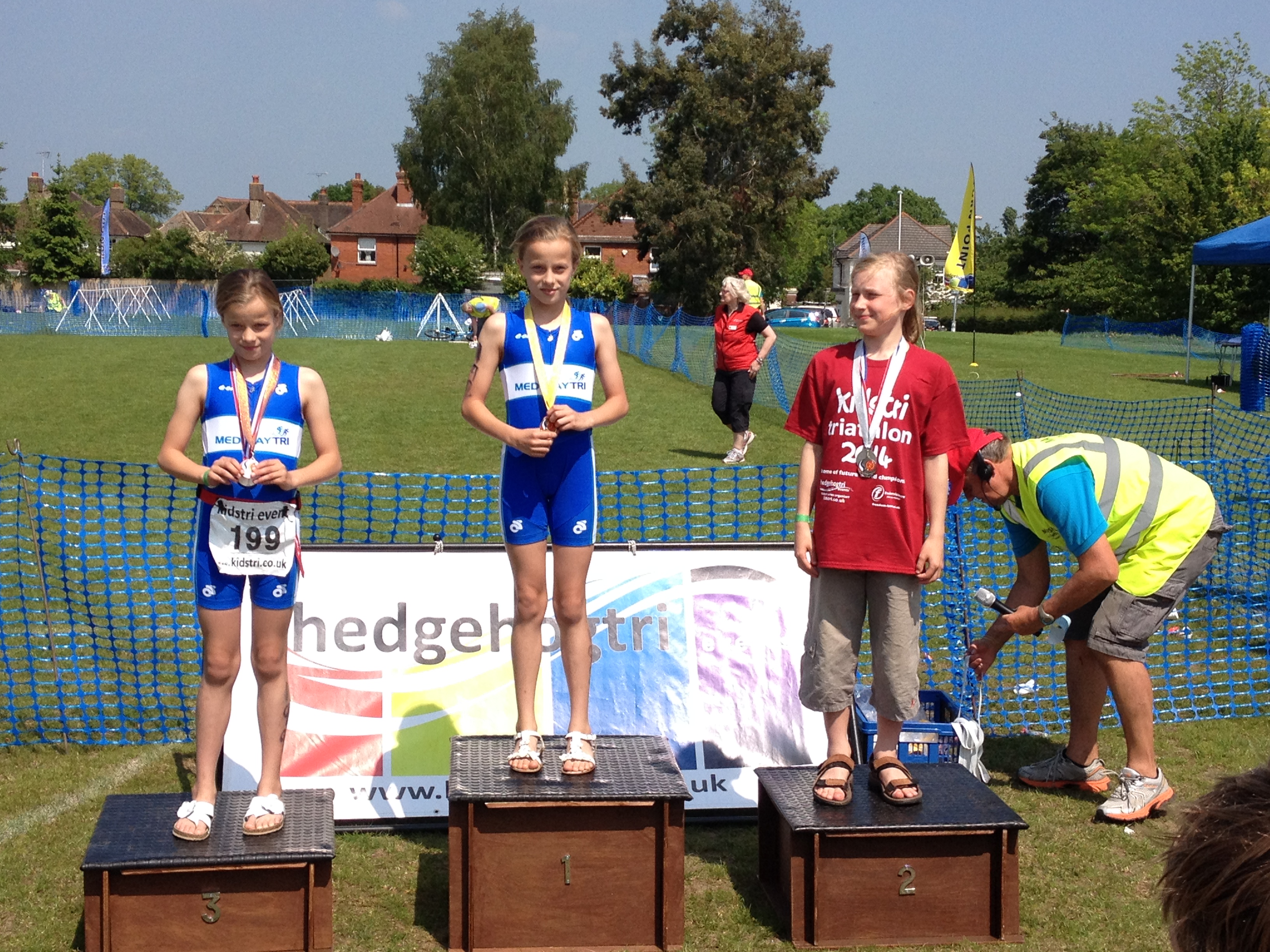 Medway Tri's first junior race series